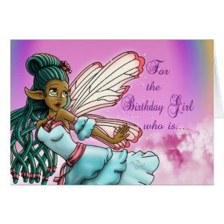 """Gracefulnes"" Birthday Card"