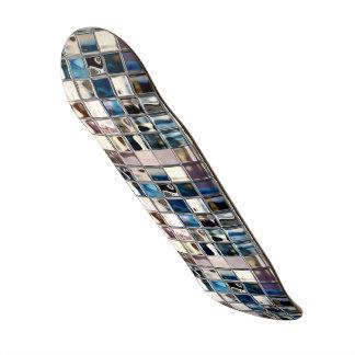 Graces Glow Modern Mosaic Art Skateboard Decks