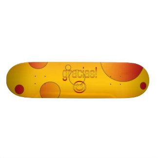 Gracias! Spain Flag Colors Pop Art Skate Board Decks