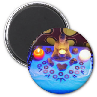 Gracing Presence 6 Cm Round Magnet