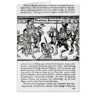 Gracious Sovereign, c.1631 Card