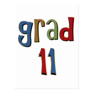 Grad 11 post card