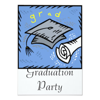 Grad 13 Cm X 18 Cm Invitation Card