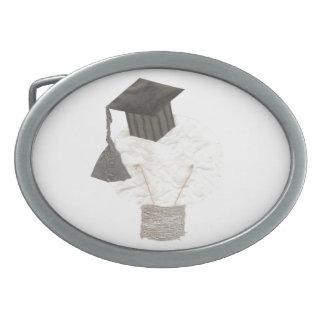 Grad Bulb Buckle Oval Belt Buckles