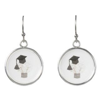 Grad Bulb Earrings