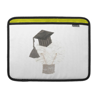 Grad Bulb No Background Macbook Air Sleeve