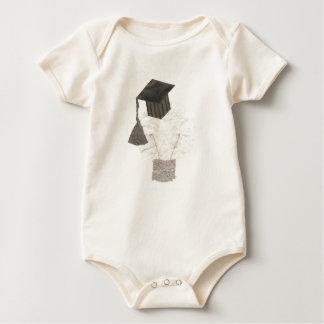 Grad Bulb No Background Organic Babygro Baby Bodysuit