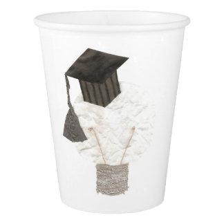 Grad Bulb No Background Paper Cup