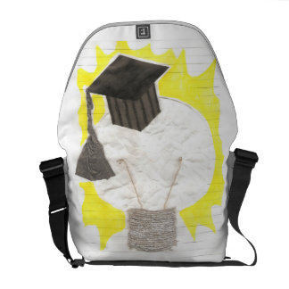 Grad Bulb With Background Rusksack Commuter Bag