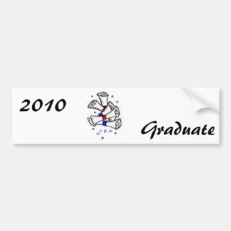 Grad Bumper Sticker