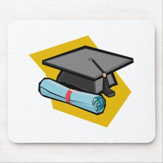 Grad Cap Diploma Mousepad