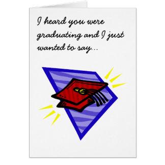 Grad Cap Greeting Card