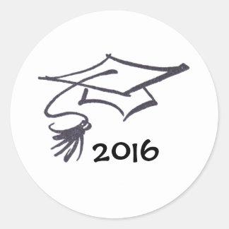 Grad cap stickers