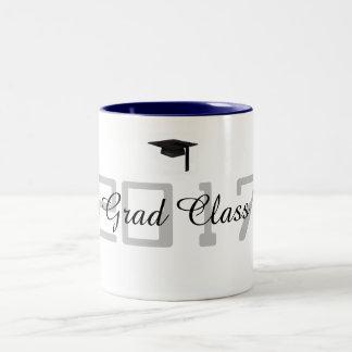 Grad Class 2017 - Two-Tone Coffee Mug