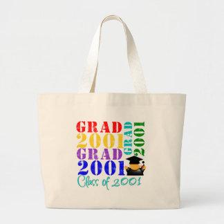 Grad  Class of 2001 Canvas Bag