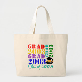 Grad Class of 2003 Tote Bags