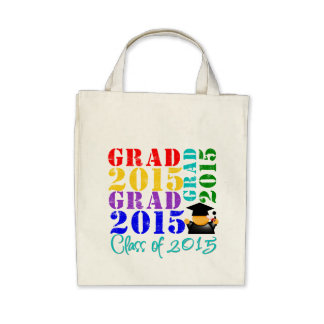 Grad  Class of 2015 Canvas Bags