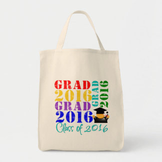 Grad  Class of 2016 Grocery Tote Bag