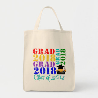 Grad  Class of 2018 Tote Bag