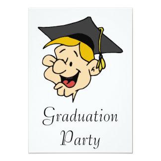 Grad Guy Custom Invitations