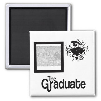 Grad Photo Magnet - U CHOOSE COLOR