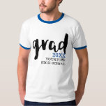 Grad School Spirit Jersey T-shirt