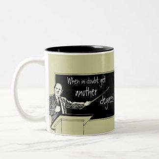Grad School Two-Tone Coffee Mug