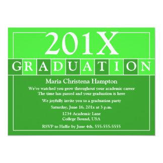 Grad Tiles Invitation (Green)