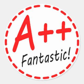 Grade A plus plus Fantastic Sticker