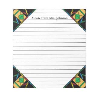 Grade School Teachers Notepad