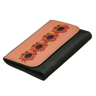 Graden flowers leather wallet