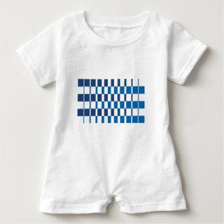 Gradient Blue Baby Bodysuit
