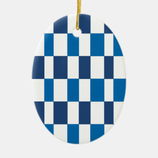 Gradient Blue Christmas Ornament