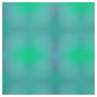 Gradient City Green-Turquoise Fabric