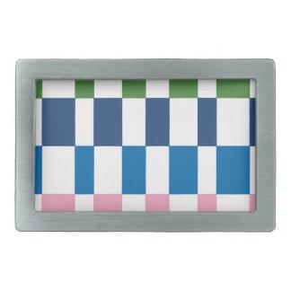 gradient colours belt buckles