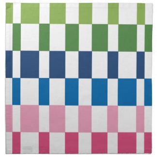 gradient colours napkin
