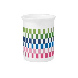 gradient colours pitcher