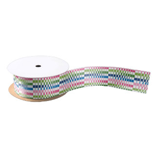 gradient colours satin ribbon