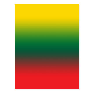 Gradient flag of Lithuania colors Postcard