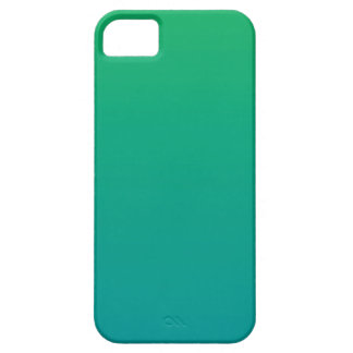 Gradient: Green to Teal iPhone 5 Covers