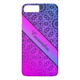 Gradient name colorful iPhone 8 plus/7 plus case