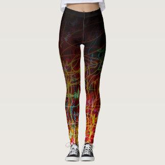 Gradient Neon Leggings