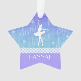 Gradient of Blue - Ballerina Passionate Dancer