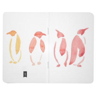 Gradient Penguins Pocket Journal