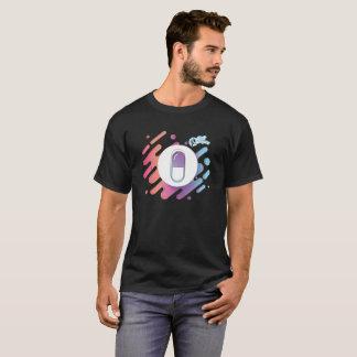 Gradient Pill - Aqua Purple Pink T-Shirt