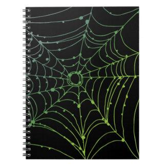 Gradient Spider Web Notebooks