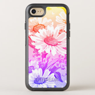 Gradient Spring Daisy Flowers OtterBox Symmetry iPhone 8/7 Case