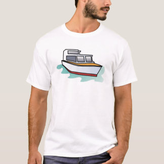 Gradient Style Yacht T-Shirt