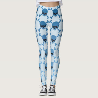 Gradual Skulls Leggings