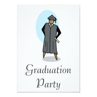 Graduate 13 Cm X 18 Cm Invitation Card